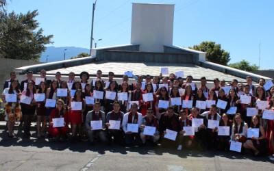 Ceremonia de graduación del diplomado en Bartender DIAGEO.