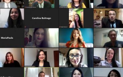 Segunda sesión virtual de entrega de actas de grado 2020-1