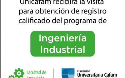 Unicafam recibirá la visita para obtención de registro calificado de dos de sus nuevos programas de la Facultad de Ingeniería.