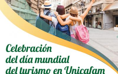 Celebración del Día Mundial del Turismo en Unicafam.