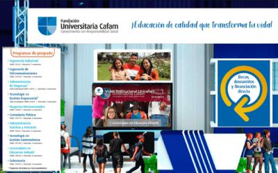 Unicafam presente en la Feria Virtual Matricúlate.