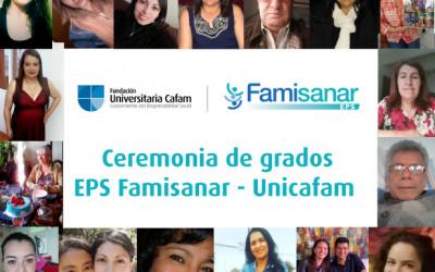 Ceremonia de grados EPS Famisanar – Unicafam.