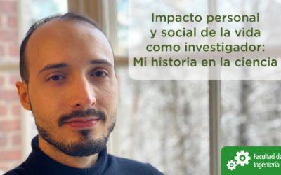 Conferencia: Impacto personal y social de la vida como investigador: Mi historia en la ciencia.