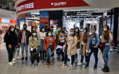 Estudiantes de Unicafam participan de Misión Académica en México