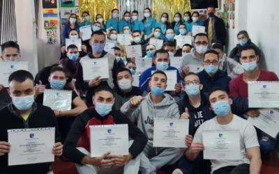 La Escuela de Enfermería capacitó en primeros auxilios a tres Fundaciones de Bogotá.