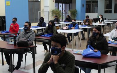 Jornada de inducción 2021-2: Recibió nuevamente a sus estudiantes en las instalaciones de Unicafam.